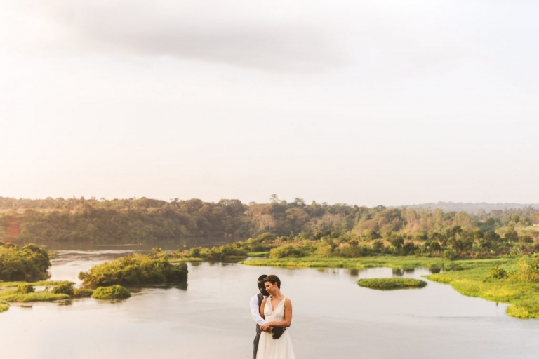 Jinja wedding at Holland Park on the Nile