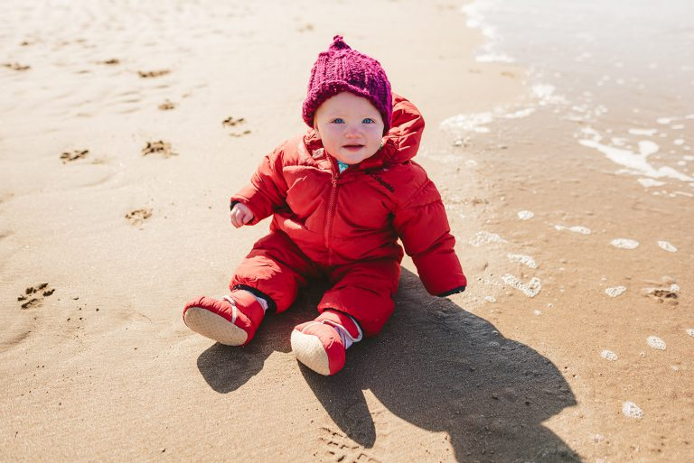 A mini family session on the beach | Dinas Dinlle